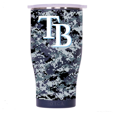 Tampa Bay Rays Digital Camo Chaser 27oz Navy/White