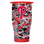Philadelphia Phillies Digital Camo Chaser 27oz Red/White