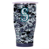 Seattle Mariners Digital Camo Chaser 27oz Navy/White