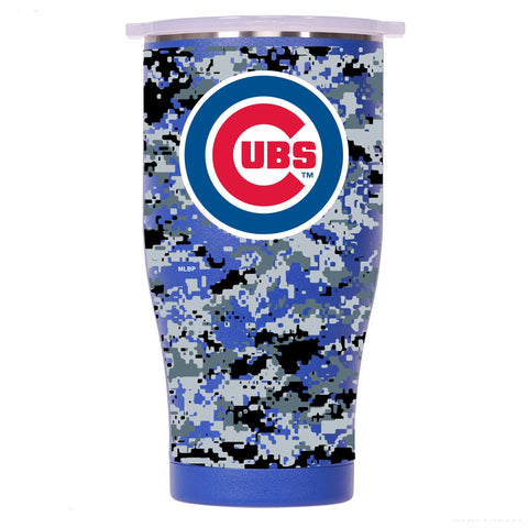 Chicago Cubs Digital Camo Chaser 27oz Blue/White