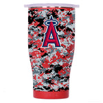 Los Angeles Angels Digital Camo Chaser 27oz Red/White