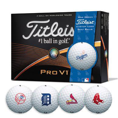 Titleist® PROV1 MLB Baseball Team Golf Balls