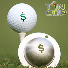 "Tin Cup Ball Marker ™    ""Nassau"""