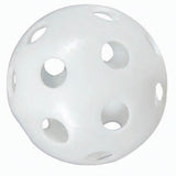 White Perforated Practice Balls