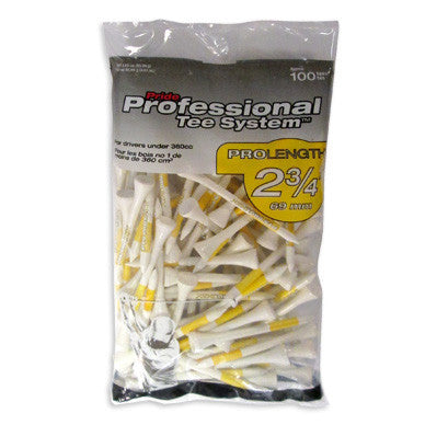 Professional Tee System™ (PTS) - Wood Golf Tees