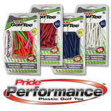 Pride Performance™ Plastic Tees - 30ct Packs