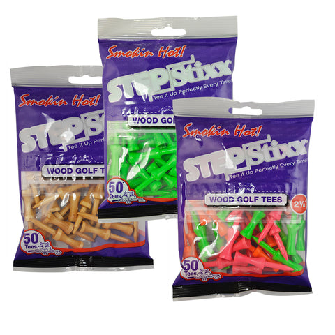 "2 1/8"" STEPStixx™ Golf Tees"