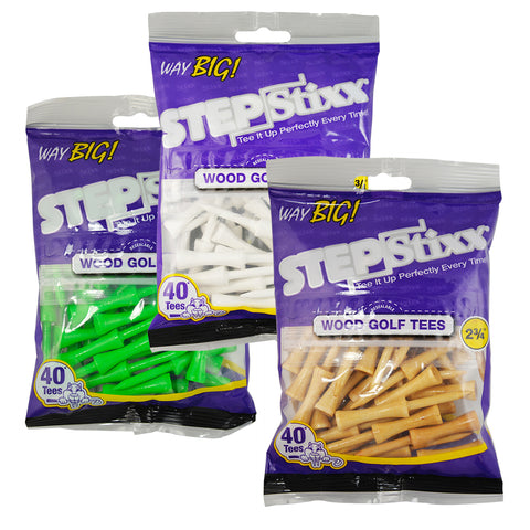 "2 3/4"" STEPStixx™ Way BIG Golf Tees"