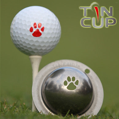 "Tin Cup Ball Marker ™    ""Trail Blazer"""