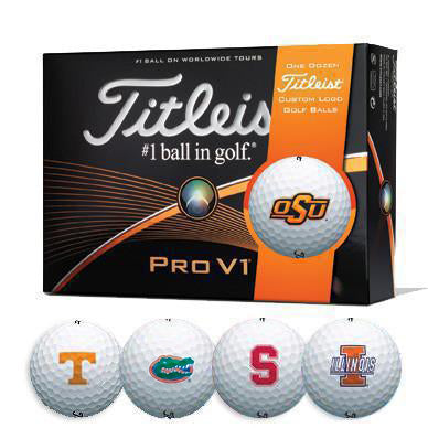 Titleist® PROV1 College Team Logo Golf Balls