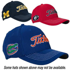 Titleist® Collegiate Fitted Hats-ON SALE NOW!