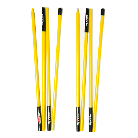 Collapsible Alignment Sticks - Yellow