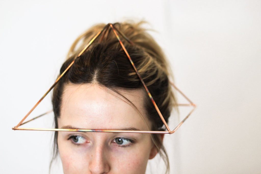 Head Pyramids: A Receiver for Health and Energy