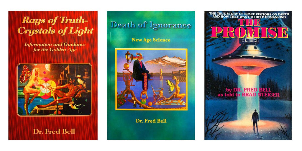 Dr. Fred Bell 3 Paperbacks Book Set - Pyradyne