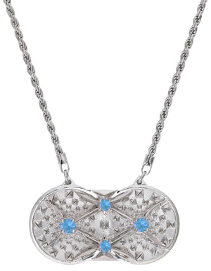Holographic Projector Necklace - Sterling Silver - Pyradyne