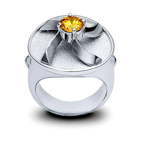 Ring - Sterling Silver with 24k Gold Plating