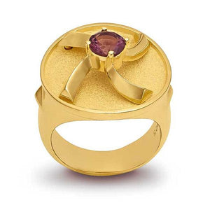 Ring - Sterling Silver with 24k Gold Plating - Pyradyne
