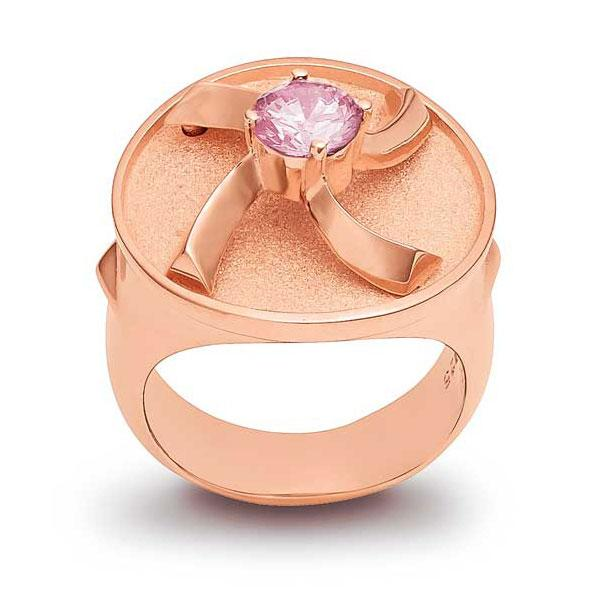 Ring - Sterling Silver with 24k Rose Gold Plating - Pyradyne