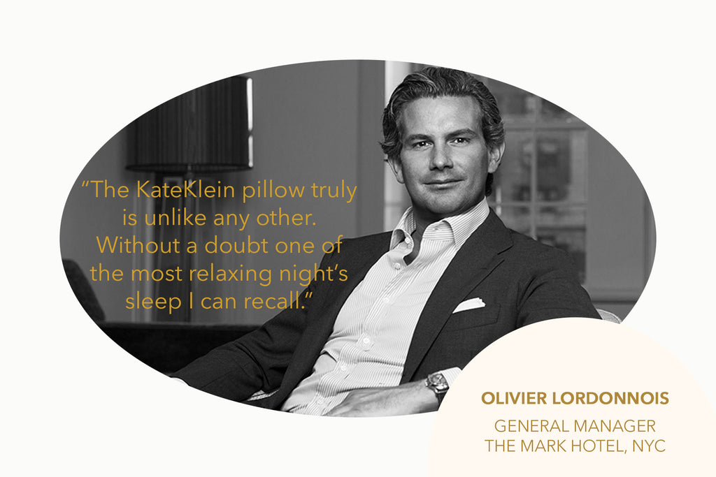 KateKlein Clean Pillow Olivier Lordonnois