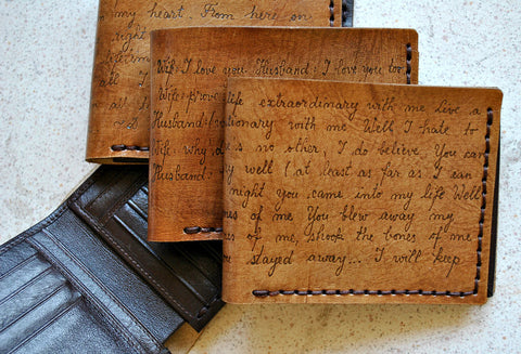 Products – Saga Leather: Personalized Leather Wallets - hand