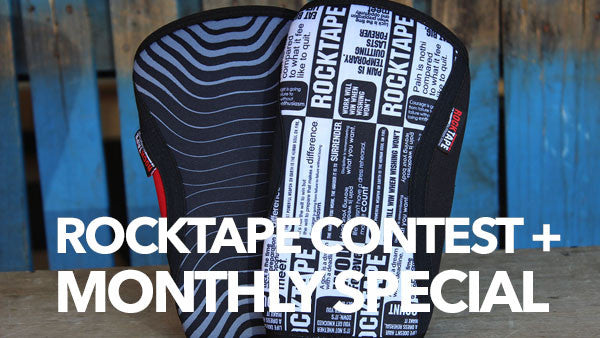 Win A Pair of RockTape Knee Sleeves