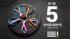 Win 5 Pairs of Double Under Wonder Speed Ropes