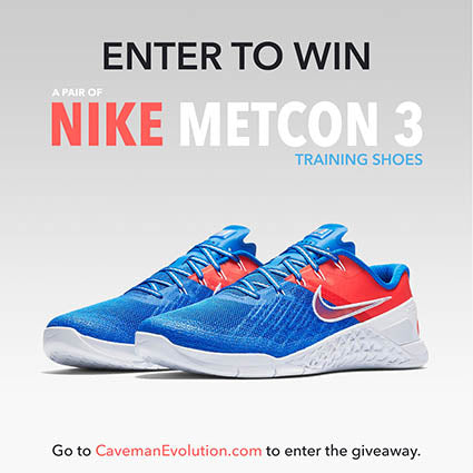 Win a pair of Nike Metcon 3 Shoes