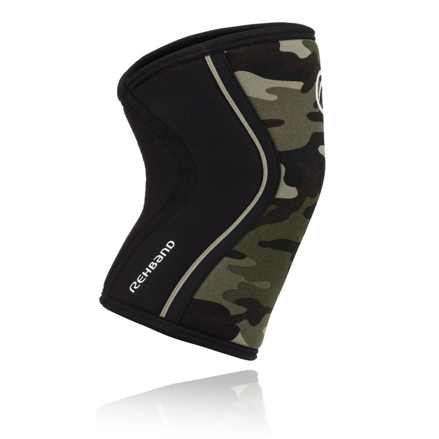 Rehband Rx Knee Sleeve 7mm Camo - 1