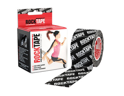 RockTape Black Logo Kinesiology Tape
