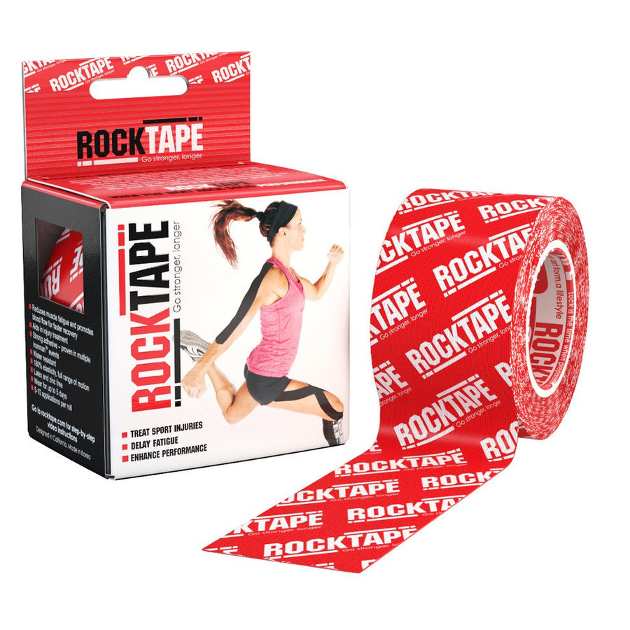 RockTape Red Logo Kinesiology Tape
