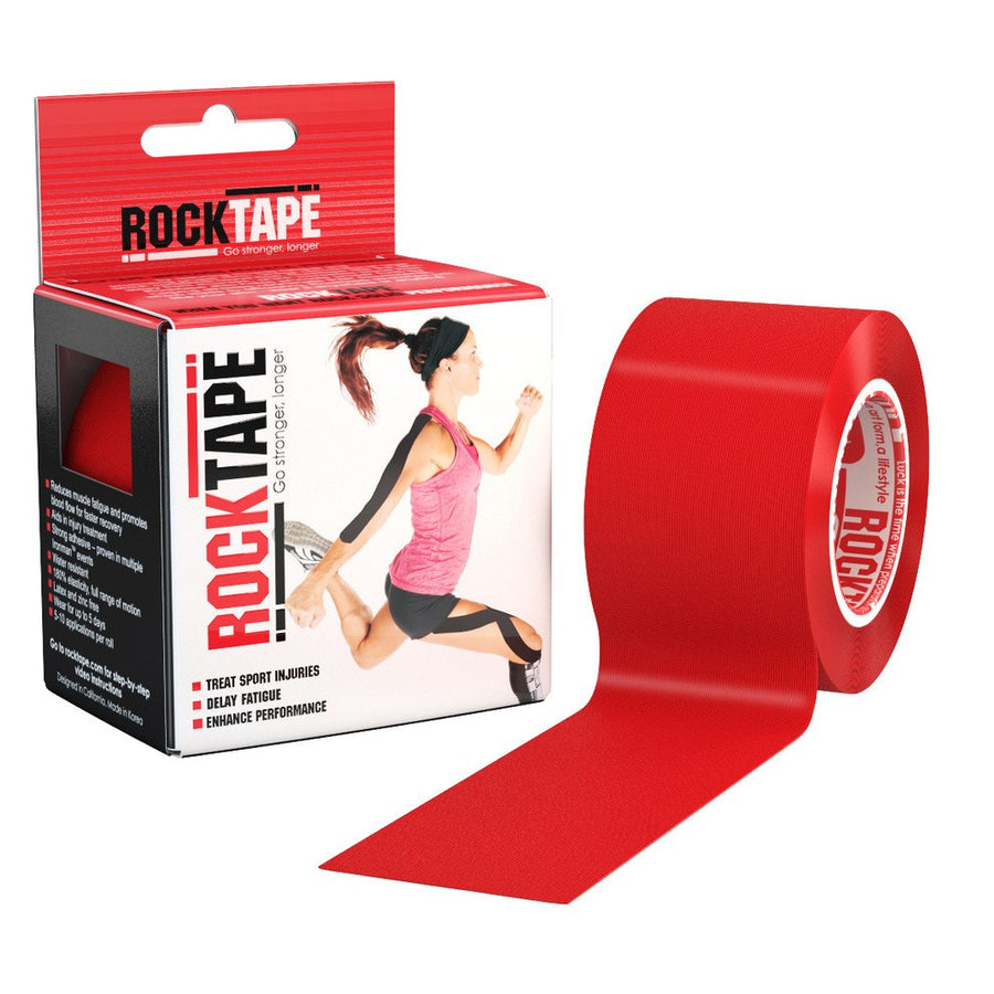 RockTape Red Kinesiology Tape