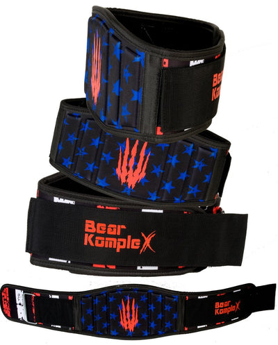 Bear Komplex Strength Belt (6 Inch Back Support)