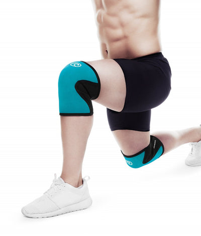 Rehband RX Knee Support Turquoise - 2