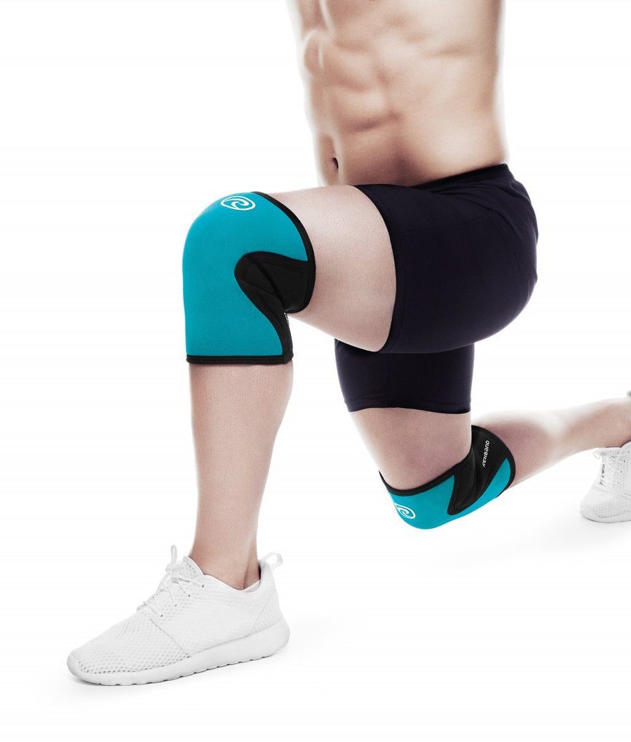 Rehband RX Knee Support Turquoise - 1