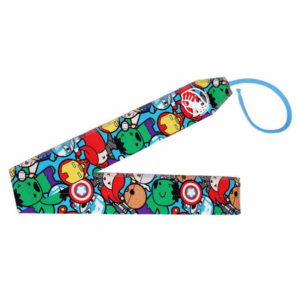 Strength Wraps Emoji Superhero Wrist Wraps