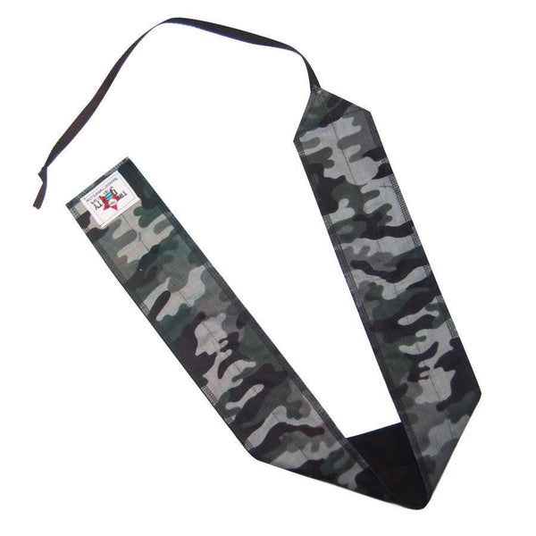 Train Dirty Grey Camo Wrist Wraps