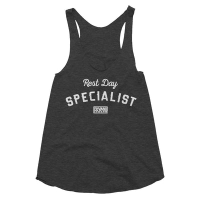 Rest Day Specialist Women's Tri-Blend Racerback Tank