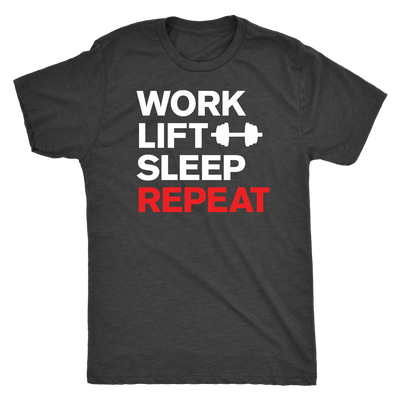 Work Lift Repeat Mens