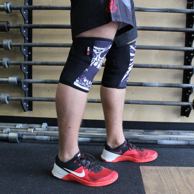 RockTape Assassin Knee Sleeves Skulls Side
