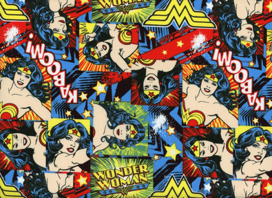 Train Dirty Wonderwoman Wrist Wraps - 1