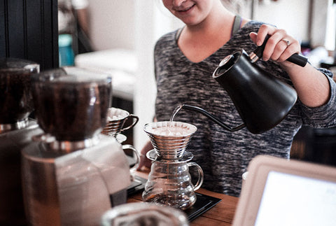 make your pour over coffee like us