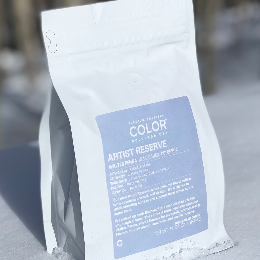 Color Coffee Walter Penna coffee bag back