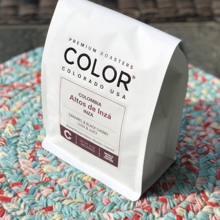 Colombia Alto Inza Coffee Bag