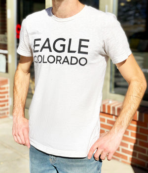 Color Coffee Eagle Colorado Tee, front