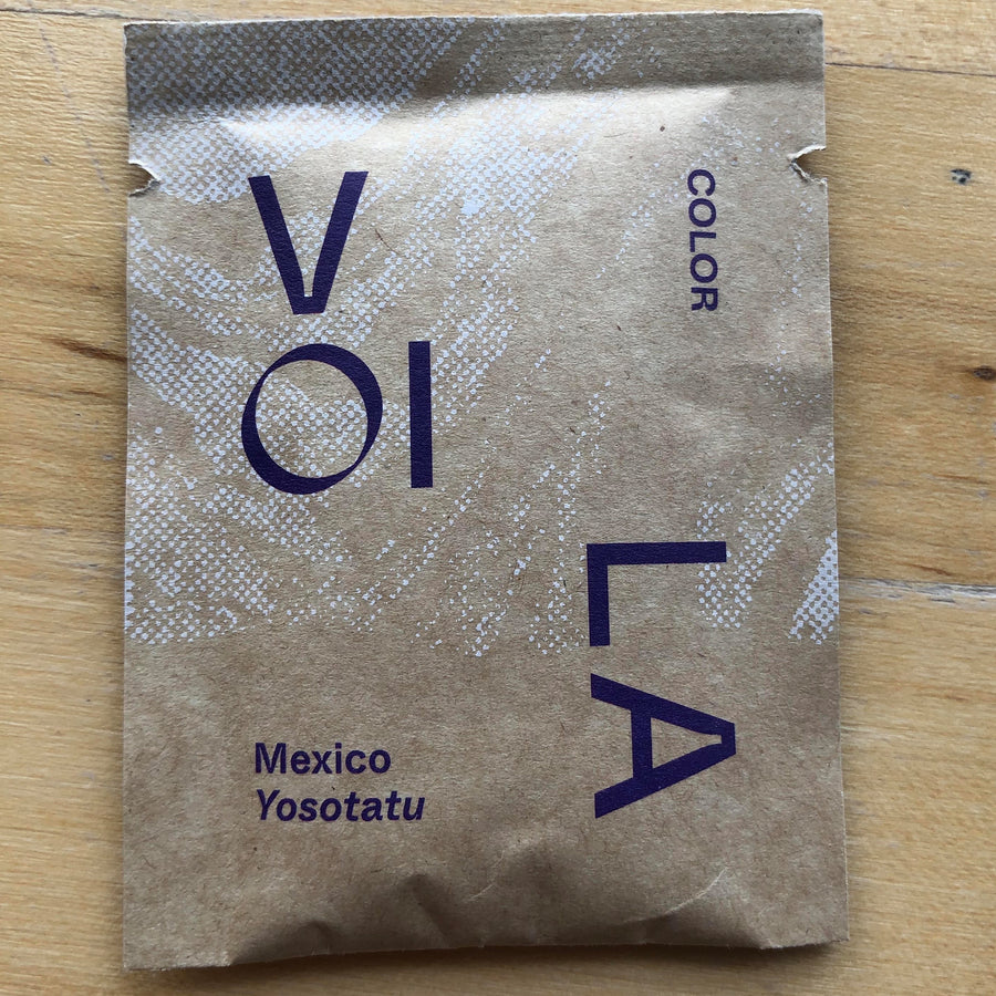 Color Coffee Voila Complex Mexico Instant Coffee pouch