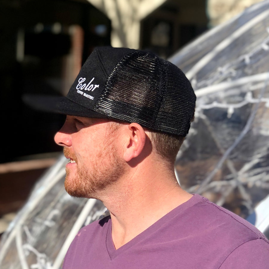 Color Coffee Roasters Premium A Frame Mesh Back Hat