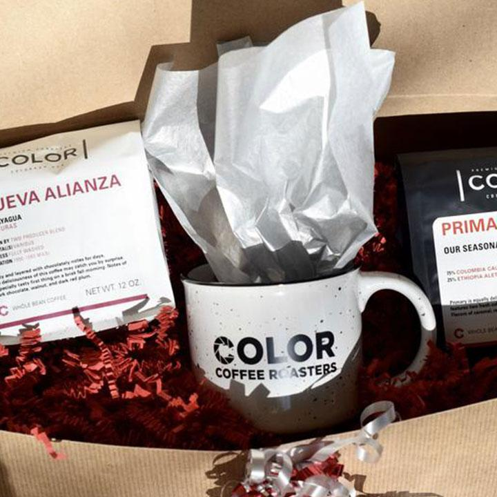 Color Coffee Roasters Gift Set