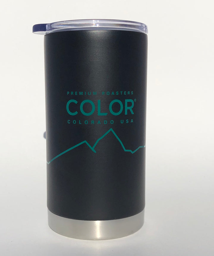 """Mtn Lines"" 16oz Insulated Tumbler"