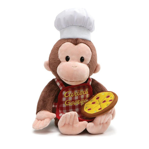 Curious George Pizza Party Doll