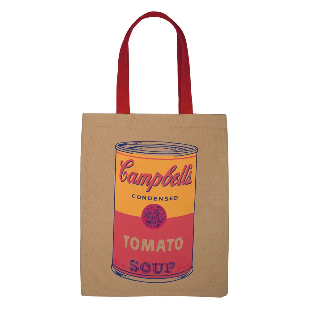 Andy Warhol's Campbell Soup Tote Bag